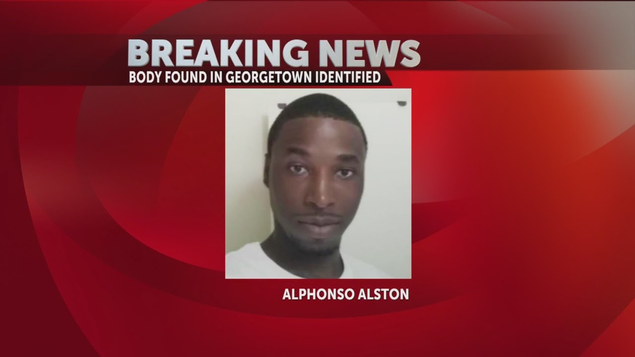 Body found in Georgetown County identified as Alphonso Alston