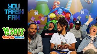 The SquADD Plays Yoshi's Crafted World | You Trash Fam