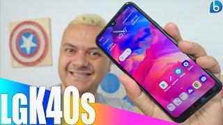 LG K40S | SMARTPHONE BOM E BARATO! UNBOXING E IMPRESSÕES