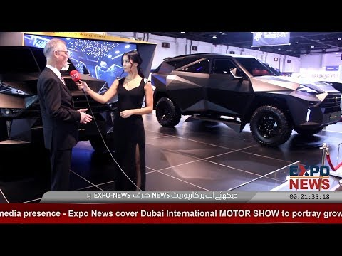 Dubai International Motor Show 2018 | DWTC | Karlmann King | GOLD CAR | Expo News Dubai