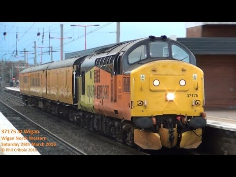 37175 at Wigan - 26th March 2016