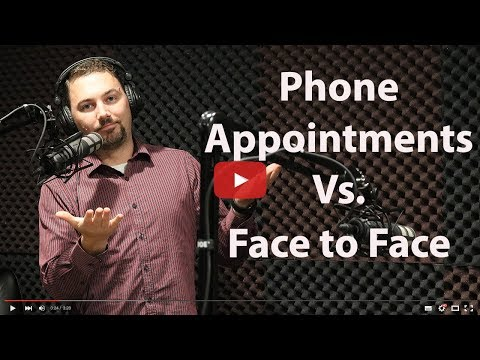Phone Appintments Vs  Face to Face Selling Merchant Services