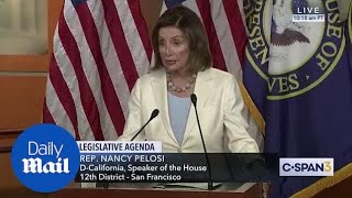 Nancy Pelosi vows to 'deal with' with article of impeachment