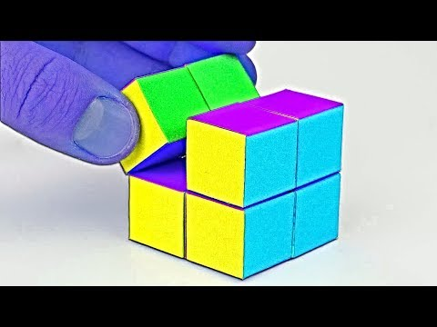 DIY - Infinity Cube Out of Paper