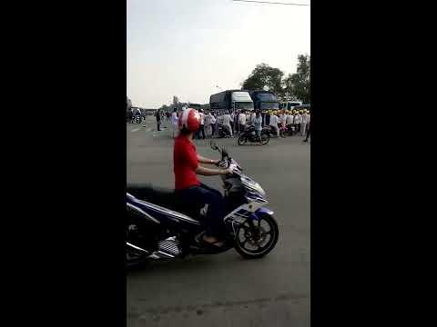 Việt Nam và Trung Quốc đánh nhau như phim chưởng: Tại CTY giấy Chánh Dương(Mỹ Phước 1, Bến Cát, BD)