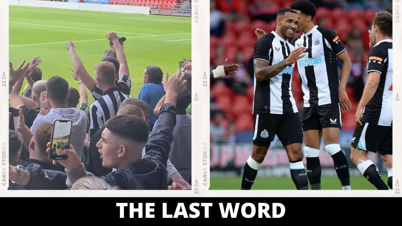 THE LAST WORD   DONCASTER ROVERS 2-3 NEWCASTLE UNITED