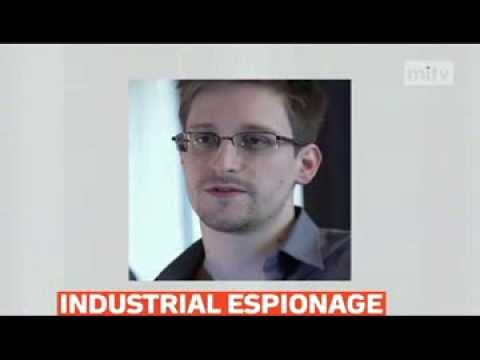 mitv - Snowden: National Security Agency engaged in industrial espionage