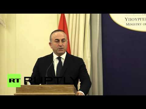 Greece: Turkish and Greek foreign ministers meet to discuss refugee crisis
