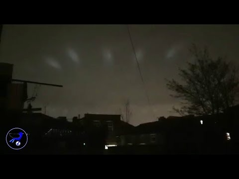 Strange UFOs seen in the sky over London,England! Jan 11,2019