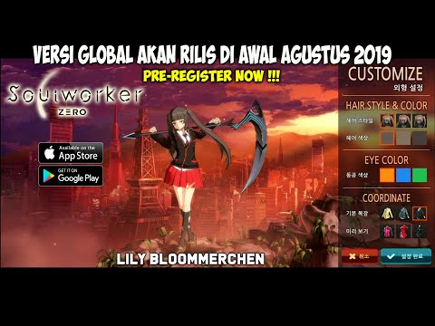 Versi Global Segera - Pre-Register NOW !!! Soulworker Zero (KR) Lily Bloommmerchen Gameplay - 동영상