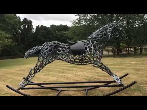 Horse Shoe Art Youtube