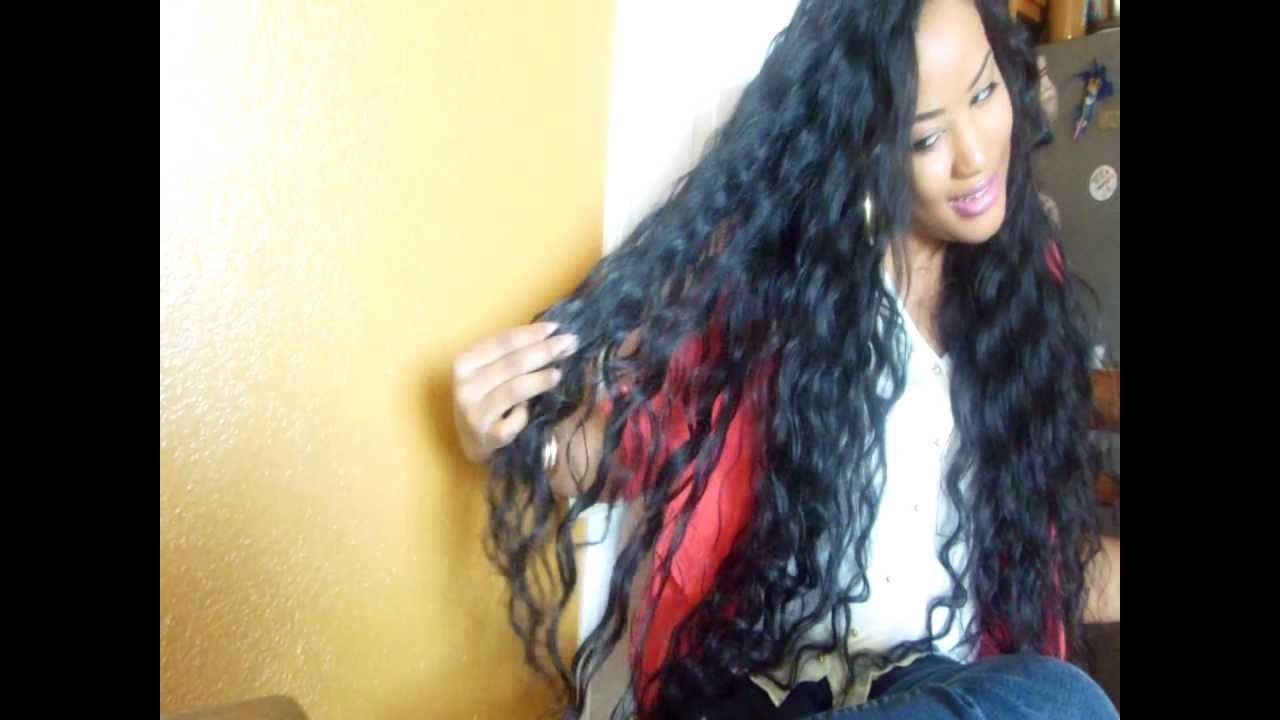 New Hair Bella Dream Hair Brazilian Natural Wave 30 Inches Youtube