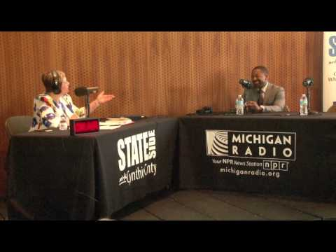 "Michigan Radio Stateside - ""Live in Flint"" 4/22/2017 - Bilal Tawwab - 1 of 7"