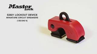 S3821 - Grip Tight™ Plus Circuit Breaker Lockout