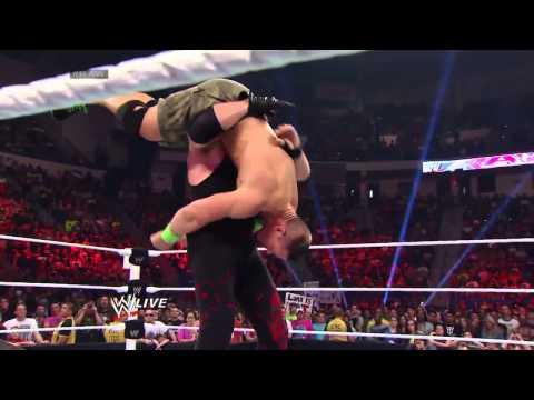 John Cena Roman Reigns vs Randy Orton Kane...
