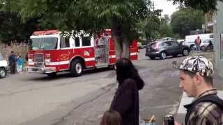 Forestville Parade-  fire trucks