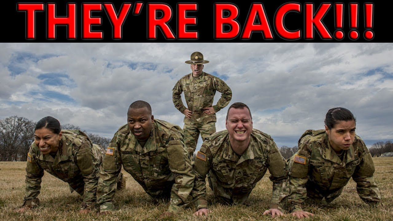 Army Drill Sergeants Come Back To AIT