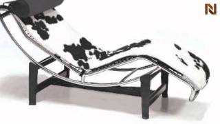 Modern Cow Hide Lounge Chair Vgfi-f903