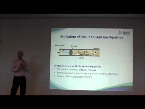 Use of Biocides to Mitigate MIC in Oil & Gas Applications - BWA Water Additives