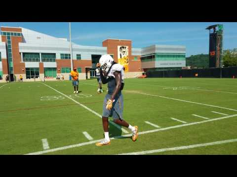 Tennessee fall practice 7 - Wide Receivers