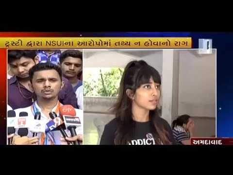 Threat of fierce movement by NSUI for GLS university fees hike | Vtv News