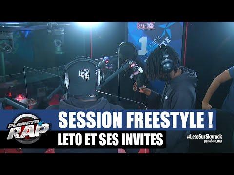 Youtube: Leto – Session freestyle avec La Fel & Minger! #PlanèteRap