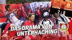 Das DRAMA von UNTERHACHING |Leverkusen verspielt die Meisterschaft am letzten Spieltag