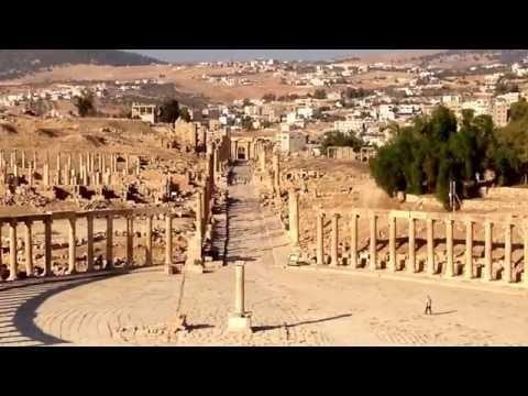 Gerasa o Jerash en Jordania