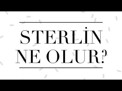 Sterlin Yorumları,Sterlin Türk Lirası Ne Olur?