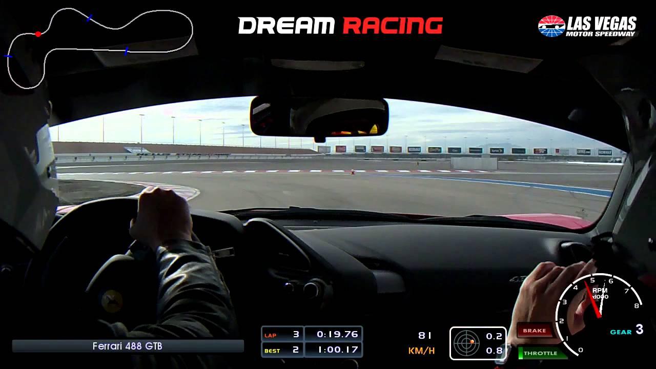 Ferrari 488 Gtb Experience On Track At Dream Racing Las Vegas