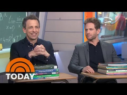 Seth Meyers And Glenn Howerton Talk About New Comedy 'A.P. Bio' | TODAY