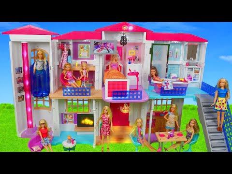 Bonecas da Barbie – Trailer dos Sonhos Barbie Mattel Rosa Brinquedos de bonecas