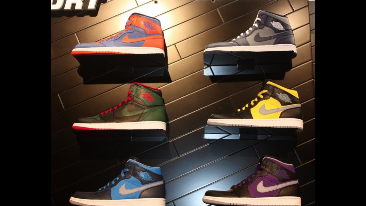 new product 3f404 3bb13 Nike Air Jordan 1 High, Gucci, Knicks, Phat Winter 2012 And Spring 2013  Preview www.defynewyork.com