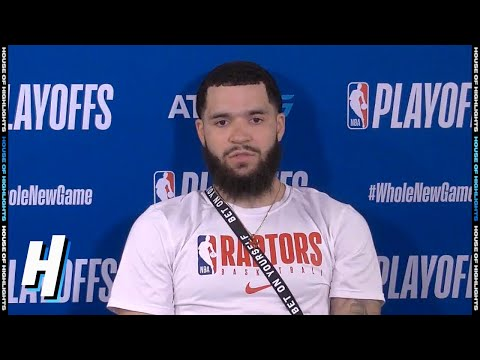 Fred VanVleet Postgame Interview - Game 7 | Celtics vs Raptors | September 11, 2020 NBA Playoffs