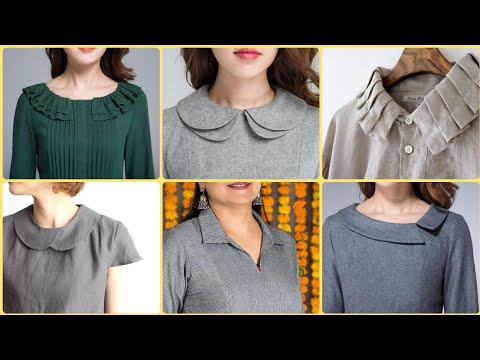 Unique Latest Neck Designs With Collar For Kameez Kurti S Youtube