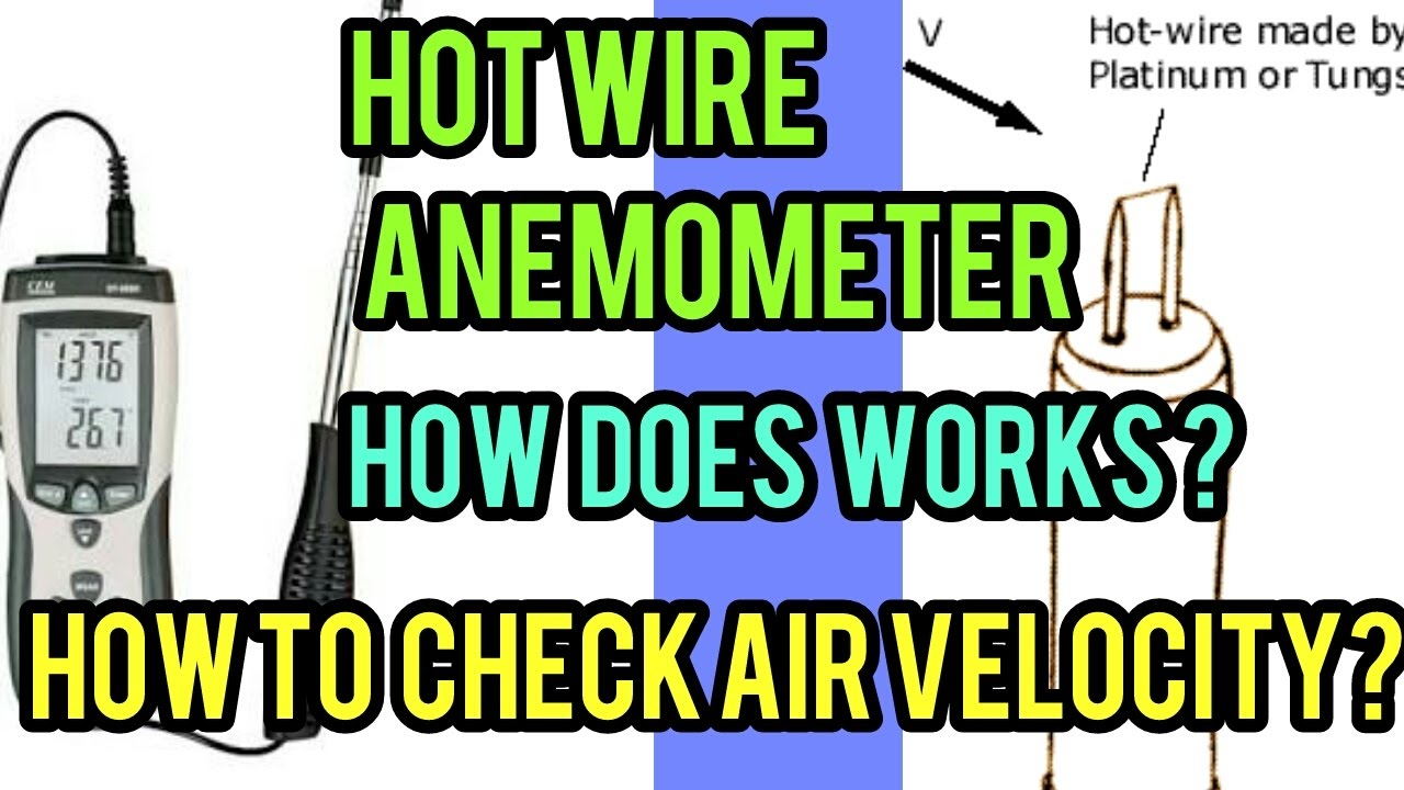 Diy Hot Wire Anemometer Circuit Single Transistor Metal Detector Measuringandtestcircuit How To Check The Air Velocity By With Working