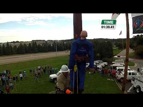 2014 Pole Top Rescue Competition — Charles Bryant, Roanoke Electric