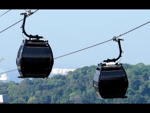 Singapore Cable Car Ride Mount Faber to Sentosa