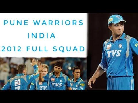 Pune Warriors India 2012 Full Squad ( Fans Love Cricket)