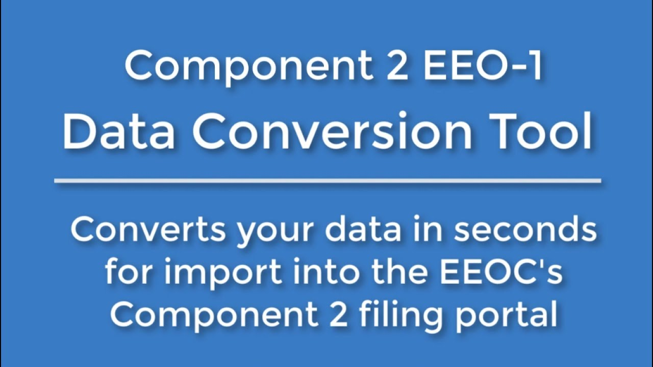 EEO 1 Component 2 Report Generation Tool | Career Resources Inc