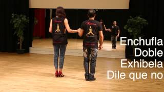 8 Salsa Cuban Basic Steps: Enchufla Doble exibela y dile que no