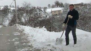 Zima se ponovno vratila u Bosnu