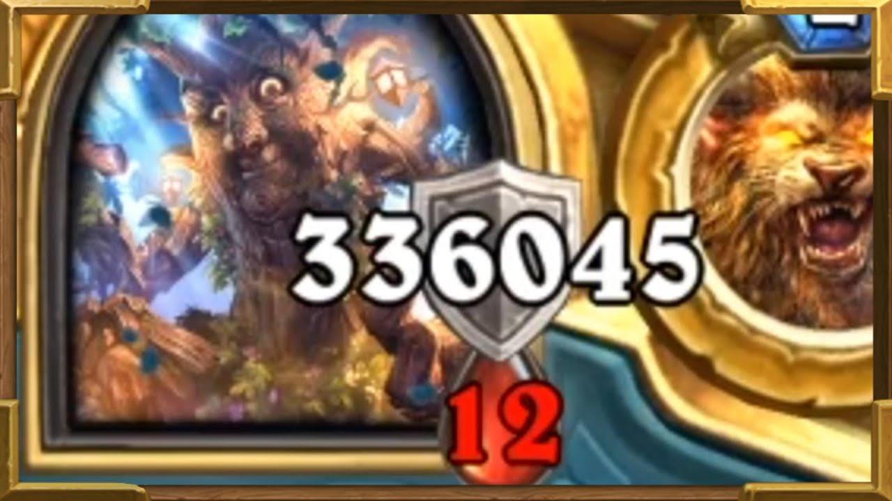 336045 ARMOR IN ONE TURN! Druid Is The Best Control Deck In Wild, NO JOKE! | Hearthstone