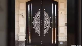 Top 100 Wooden Front door design for modern houses 2019 catalogue