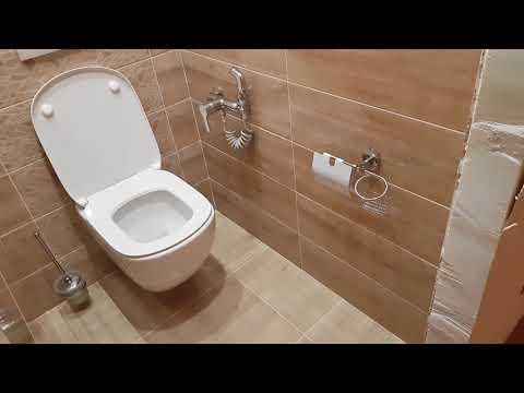 Ремонт ванной и туалета. ул. Гайнуллина дом 6. закончен Часть 4