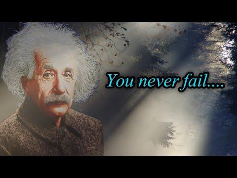 You Never Fail…..| albert einstein motivational quotes | #shorts
