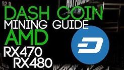 How To Mine Dash Coin, AMD GPU Miner Guide.
