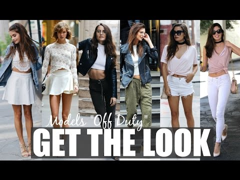 "GET THE LOOK: ""Model Off Duty"" | Taylor Hill, EmRata, Karlie Kloss + Sara Sampaio"