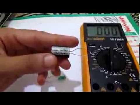 Ep5 Les Multimetres Part 13 Mesure De La Capacite Multimetre Numerique بالدارجة Youtube