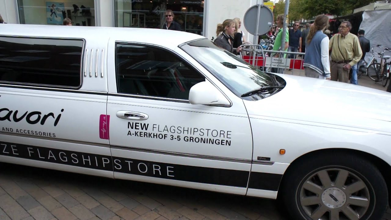 Dicapolavori limousine opening flagship store groningen for Dicapolavori groningen
